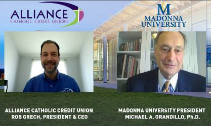 Video conference between president Grandillo and ACCU CEO