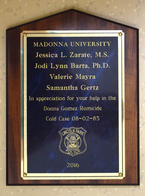 Cold Case Award