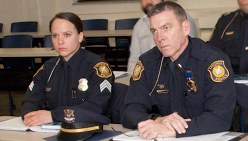 Sgt. Megan McAteer, and Lt. Greg Yon