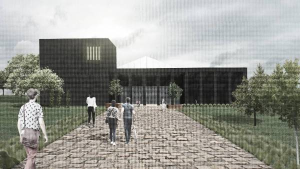 Developer Design for Welcome Center Exterior