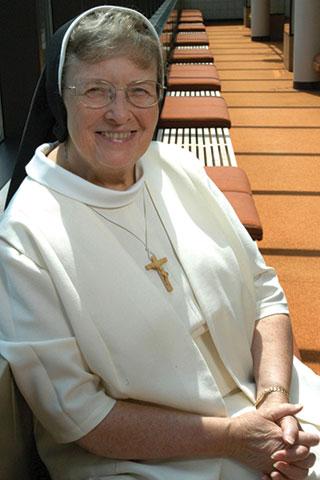 President Emerita Sister Rose Marie Kujawa