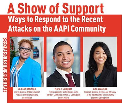 AAPI Support Flyer