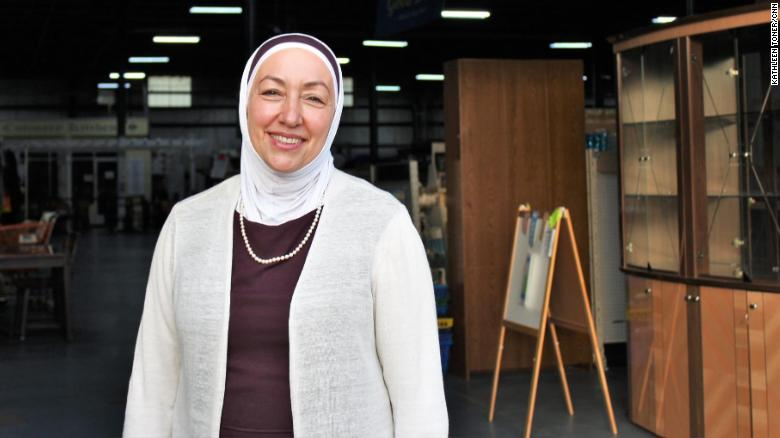 Madonna Nursing alumna Najah Bazzy, founder of Zaman International