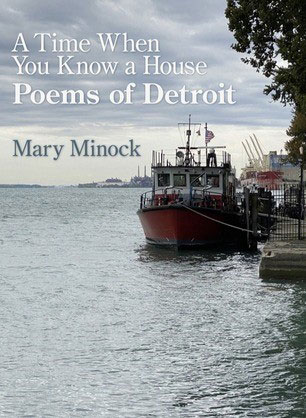Poems of Detroit by Mary Minock book cover